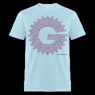 T-Shirts ~ Men's T-Shirt ~ Gizmonic Institue Radio - Every Episode Tee (Purple)