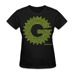 Gizmonic Institue Radio - Every Episode Tee (Women's Green) - Women's T-Shirt