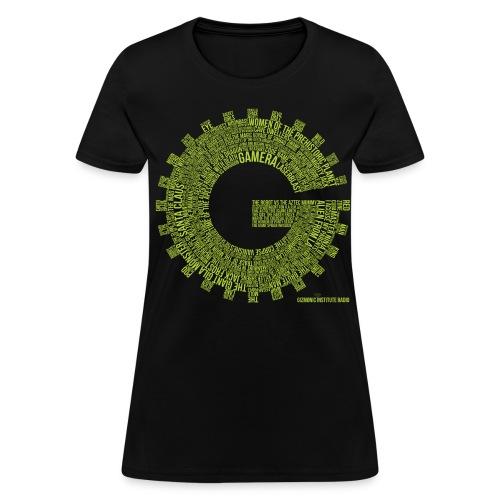 Gizmonic Institue Radio - Every Episode Tee (Women's Green) - Women's T-Shirt