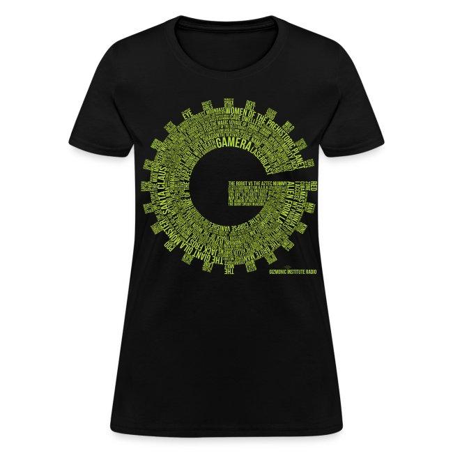 Gizmonic Institue Radio - Every Episode Tee (Women's Green)