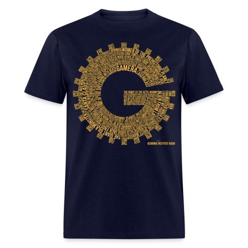 Gizmonic Institue Radio - Every Episode Tee (Orange) - Men's T-Shirt