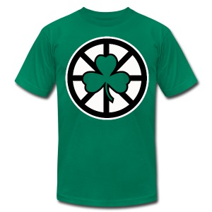 Shamrock - Men's T-Shirt by American Apparel