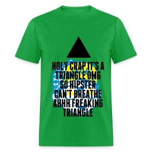 OMG Triangle - Men's T-Shirt