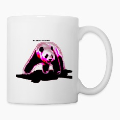 pandHey dont fuck with the panda Bottles & Mugs
