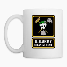 Army Cleaning Team Bottles & Mugs