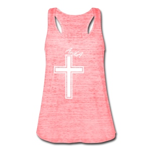 Cross over 2 AvikA - Women's Flowy Tank Top by Bella