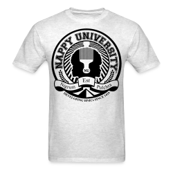 Nappy University w/Crest Men's Standard Weight T-Shirt - Men's T-Shirt