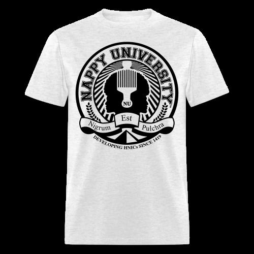 Nappy University w/Crest Men's Standard Weight T-Shirt - Men's T-Shirt