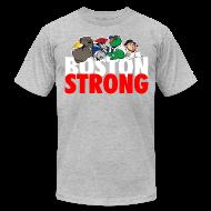 T-Shirts ~ Men's T-Shirt by American Apparel ~ Boston Strong Mascots12