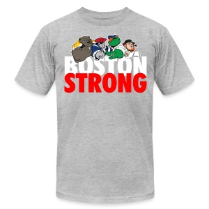 Boston Strong Mascots12 - Men's T-Shirt by American Apparel