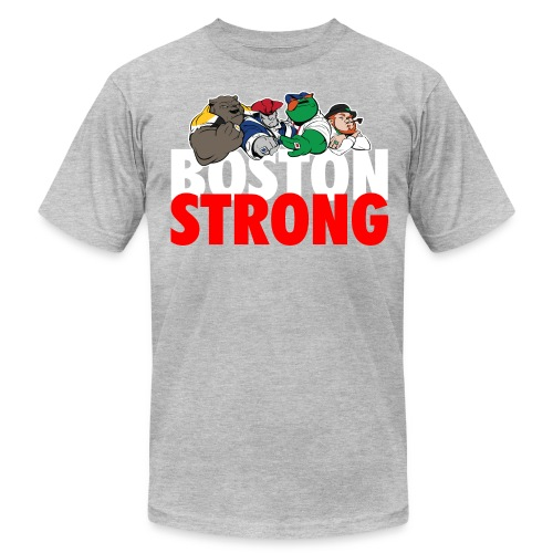 Boston Strong Mascots12 - Men's Fine Jersey T-Shirt