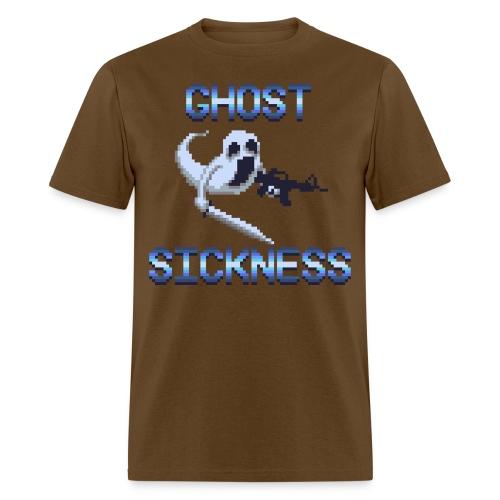 Ghostly Pixel Art - Men's T-Shirt