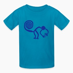 Nazca Monkey Kids' Shirts