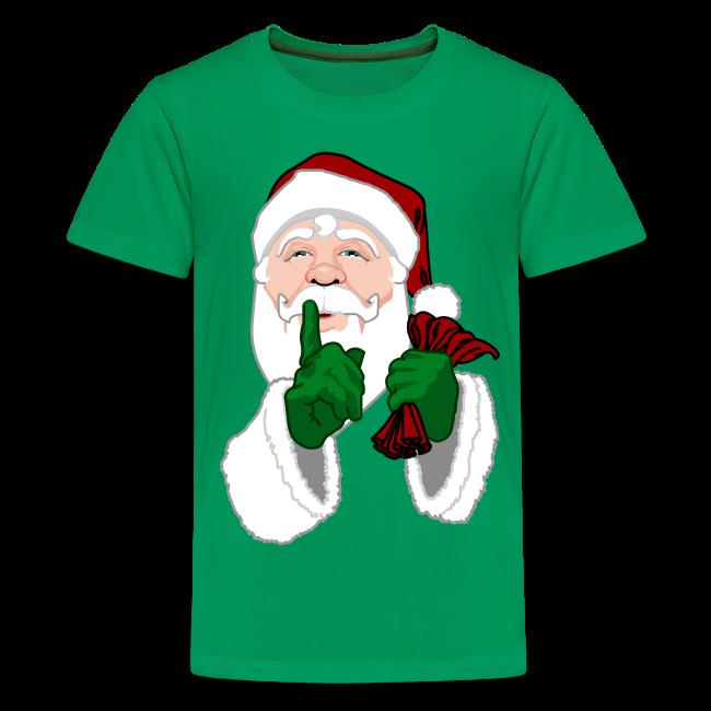 Kid's Santa Clause Shirt Kid's Santa T-Shirt