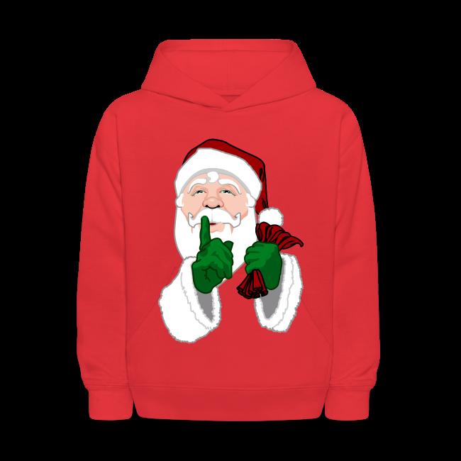 Kid's Santa Clause Hoodie Kid's Santa Hoodie Shirt