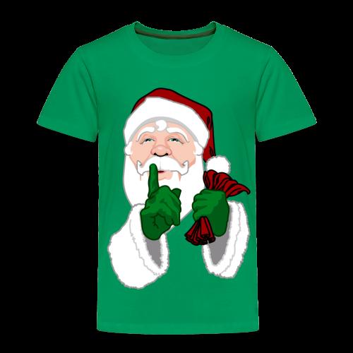 Santa Clause Baby Shirt Toddler Santa Shirt - Toddler Premium T-Shirt