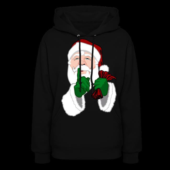 Santa Clause Hoodie Women's Christmas Shirts