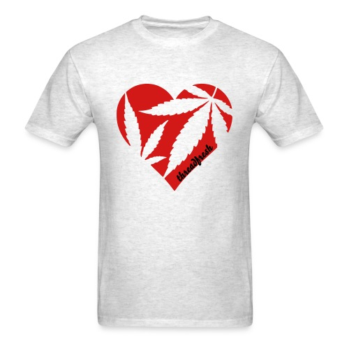 Heart Mary - Men's T-Shirt