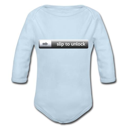 Unlock - Organic Long Sleeve Baby Bodysuit