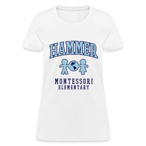 Women's T-shirt (Light Blue Logo) - Women's T-Shirt