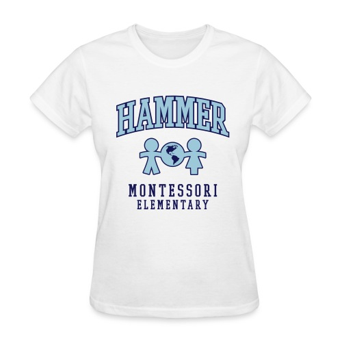 Women's T-shirt (Light Blue Logo) - Women's T-Shirt