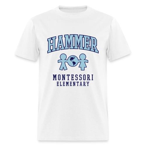 Men's T-shirt (Light Blue Logo) - Men's T-Shirt