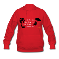 Hoodies ~ Women's Hoodie ~ Let It Snow