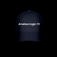 Sportswear ~ Baseball Cap ~ AmateurLogic.TV Ball Cap (White Logo)