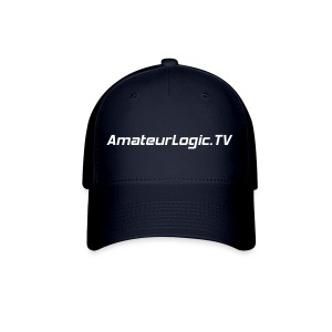 AmateurLogic.TV Ball Cap (White Logo) - Baseball Cap
