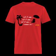 T-Shirts ~ Men's T-Shirt ~ Let It Snow