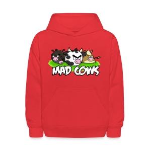 Mad Cows Kids' Hoodie - Kids' Hoodie