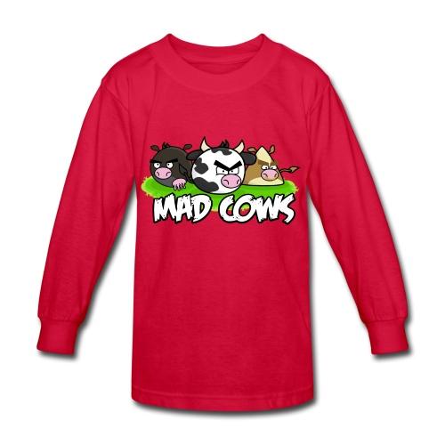 Mad Cows Kids' Long Sleeve - Kids' Long Sleeve T-Shirt