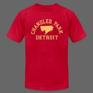 Chandler Park, Detroit - Men's T-Shirt by American Apparel