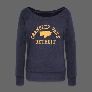 Chandler Park, Detroit - Women's Wideneck Sweatshirt