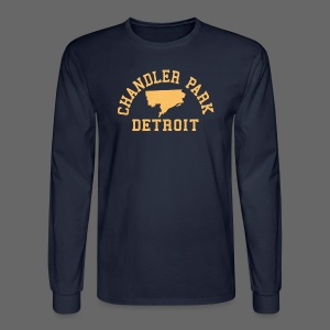 Chandler Park, Detroit - Men's Long Sleeve T-Shirt