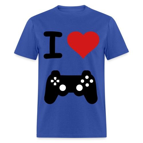I Love Gaming Shirt - Men's T-Shirt