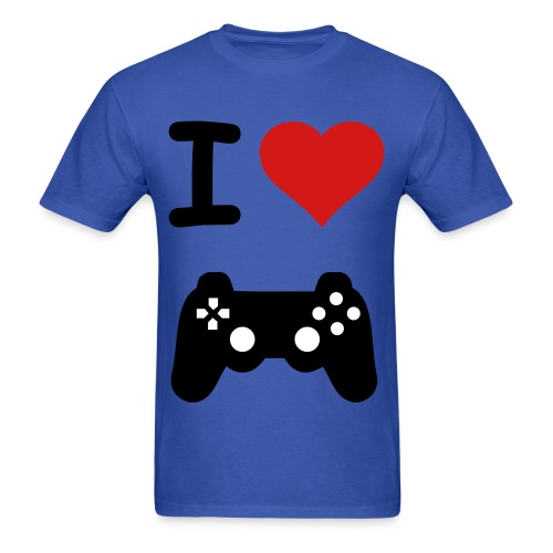 I Love Gaming Shirt - Men's T-Shirt