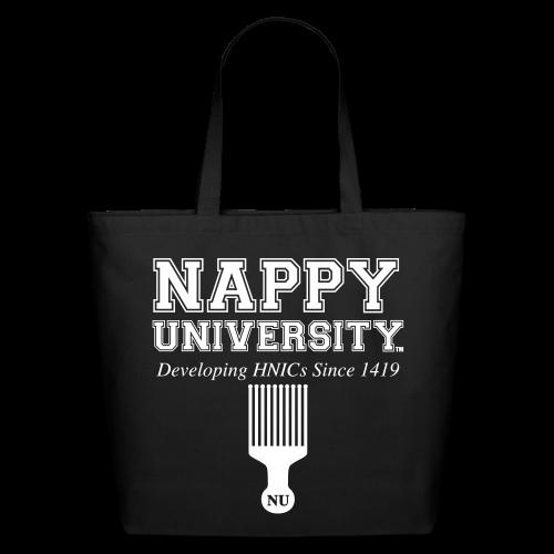 Nappy University Eco-Friendly Cotton Tote - Eco-Friendly Cotton Tote