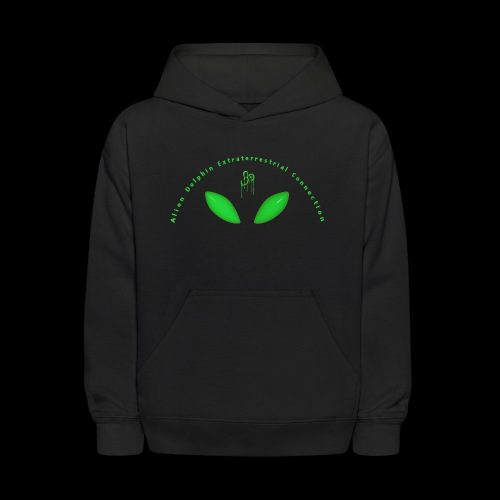 Alien Dolphin Extraterrestrial Connection - Kids' Hoodie