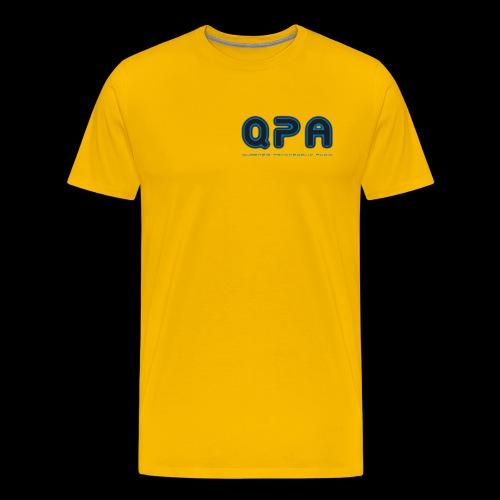 Q.P.A. Logo aka qubenzis psy audio T-Shirt - Men's Premium T-Shirt