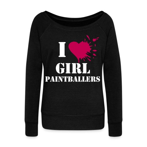 I Heart GP - Women's Wideneck Sweatshirt