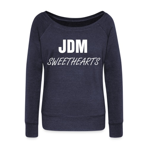 JDM Sweethearts - Women's Wideneck Sweatshirt