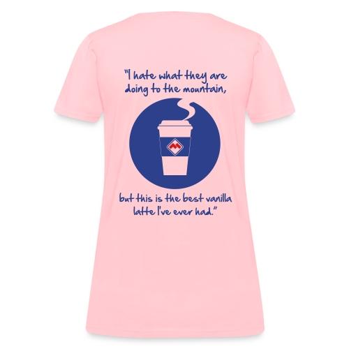 latte - Women's T-Shirt