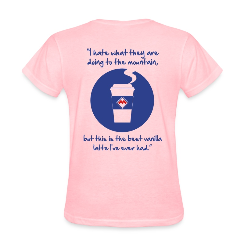 latte - Women's T-Shirt