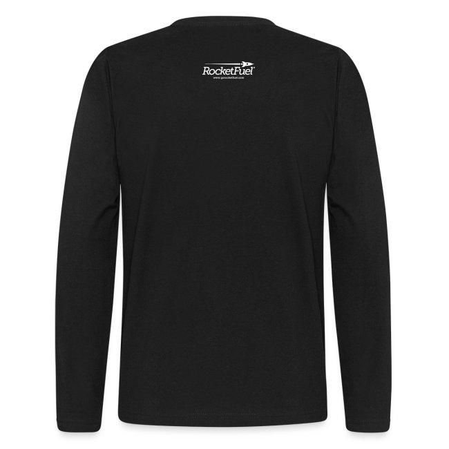 Web Geek Gears Men's Long Sleeve T-Shirt by American Apparel