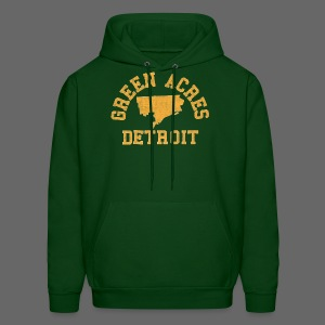 Green Acres, Detroit - Men's Hoodie