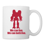 Mugs & Drinkware ~ Coffee/Tea Mug ~ [wecanlive]