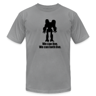 T-Shirts ~ Men's T-Shirt by American Apparel ~ [wecanlive]