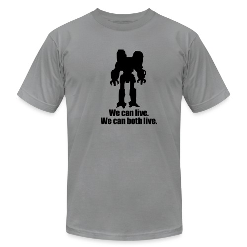 [wecanlive] - Men's T-Shirt by American Apparel