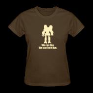Women's T-Shirts ~ Women's T-Shirt ~ [wecanlive]